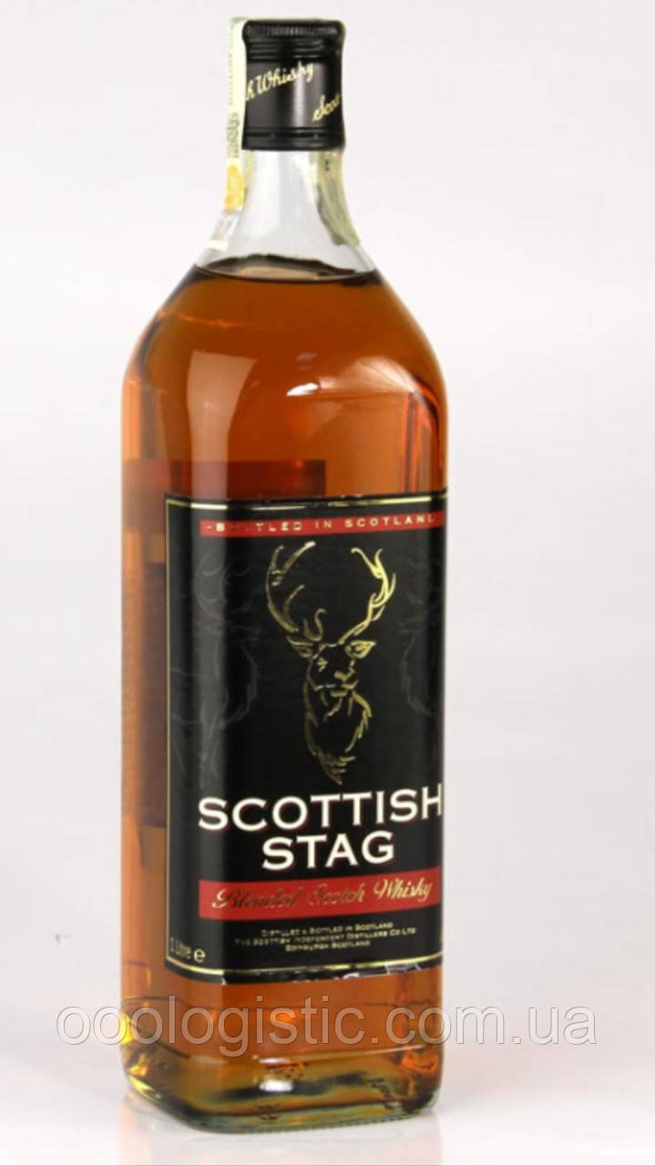 Виски scottish stag 1 л, duty free