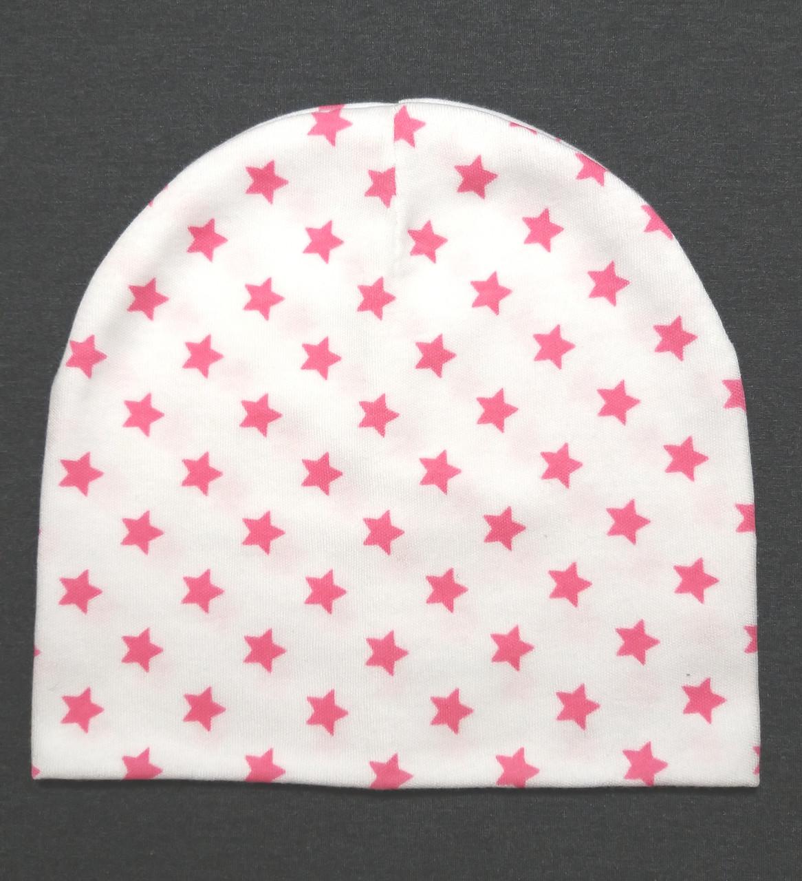 """Детская шапка """"Pink star"""""""