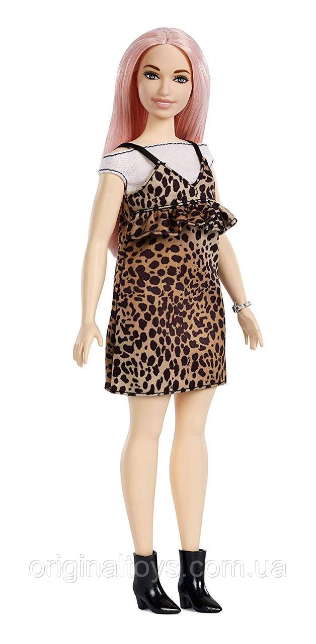 Кукла Барби Модница 109 Barbie Fashionistas Leopard Dress Mattel FXL49