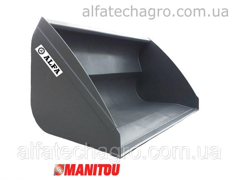 Ковш на навантажувач Manitou