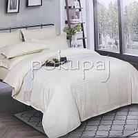 Комплект постельного белья Krispol страйп сатин люкс семейный 540507 с