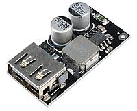 Понижающий модуль преобразователь USB DC-DC 6-32В - 5В(3-12В) QC3.0 QC2.0