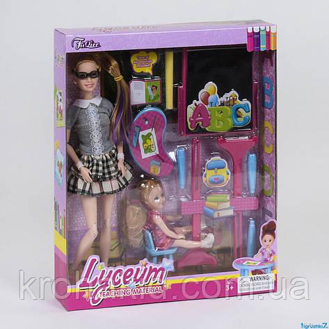 """Лялька Барбі JX 200-73 """"Вчитель"""" з аксесуарами, в коробці, фото 2"""