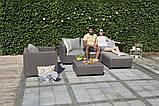 Набор садовой мебели Salta Lounge Set из искусственного ротанга ( Allibert by Keter ), фото 6