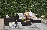 Набор садовой мебели Salta Lounge Set из искусственного ротанга ( Allibert by Keter ), фото 10