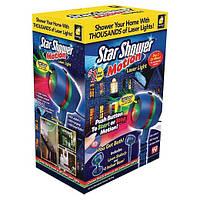 """Новогодний лазерный проектор """"star shower motion laser light"""", фото 1"""