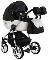Детская коляска универсальная 2 в 1 Adamex Hybryd Plus Polar BR615 (Адамекс, Польша)