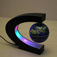 Плавающий Магнитный Левитирующий Глобус Карта Мира Globe Floating and Rotating in Midair, фото 1