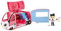 Игровой набор Куу Куу Харадзюку Туристический автобус Kuu Kuu Harajuku Tour Bus Mattel
