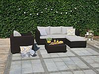 Набор садовой мебели Salta Lounge Set Brown ( коричневый ) из искусственного ротанга, фото 1