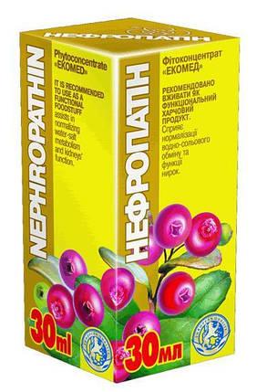 Нефропатин - сприяє нормалізації функцій нирок і забезпечує нормалізацію аналізів сечі Екомед, 30мл, фото 2