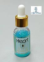Кутикул ремовер для размягчения кутикулы Heart с пипеткой 15мл