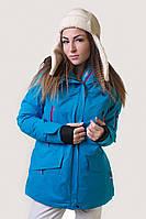 Горнолыжная куртка женская распродажа AV-5766462 голубой 48 (XL)