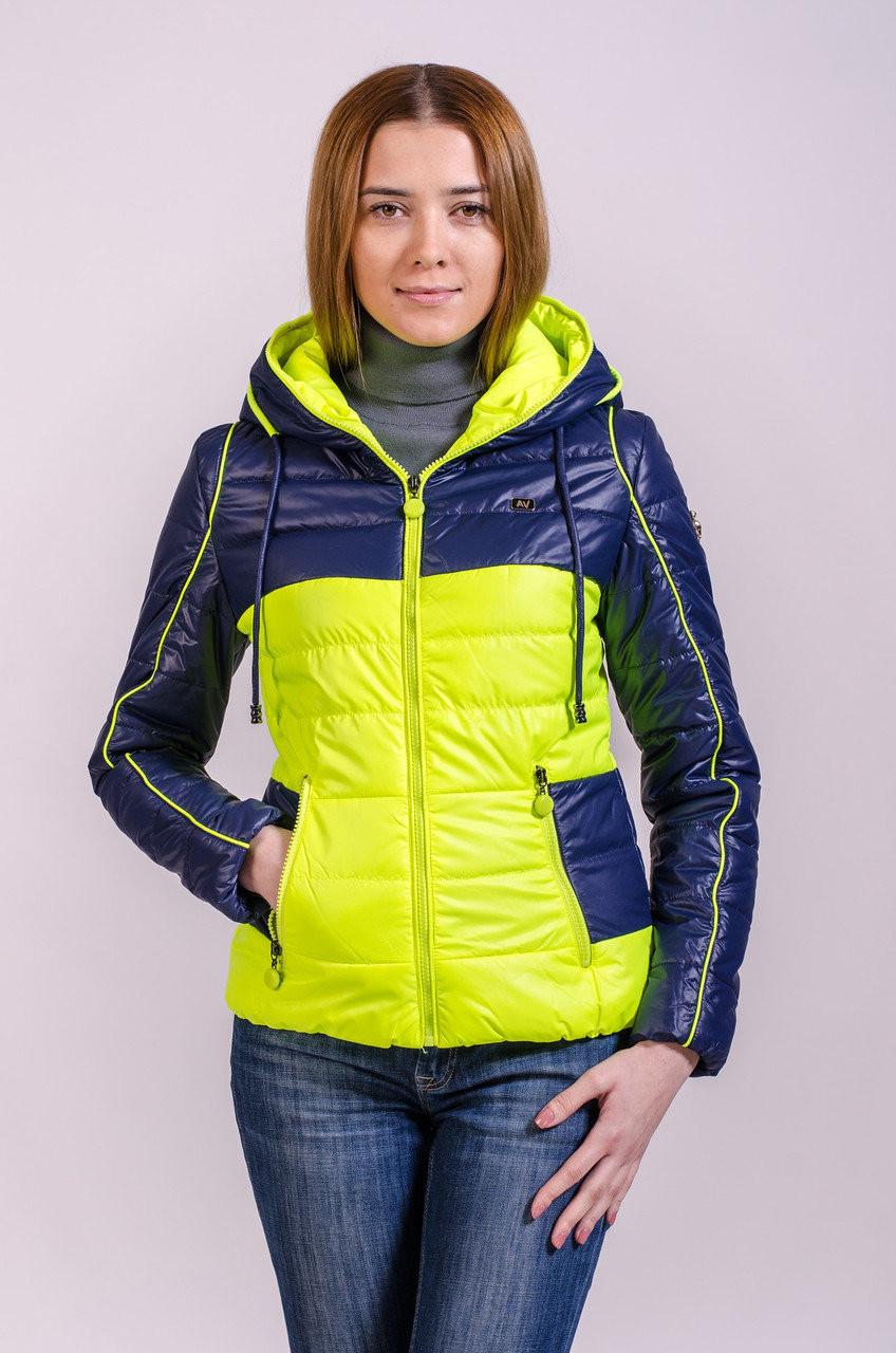 Куртка женская демисезонная распродажа Avecs лайм