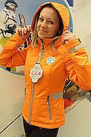 Куртка женская демисезонная WHS оранжевый 50 (XL)