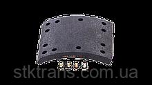 Накладки FRUEHAUF,ROR,TRAILOR 421x177,8mm BERAL (1рем)