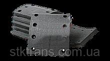 Накладки SAF 421x177,3mm (1std) - 19283 10 102 10