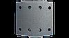 Накладки T RENAULT 414x175mm (std) LUMAG