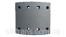 Накладки T RENAULT RENAULT 414x175mm BERAL (STD) - 19935 18.50