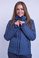 Горнолыжная куртка женская распродажа AV-8683 тёмно-синий