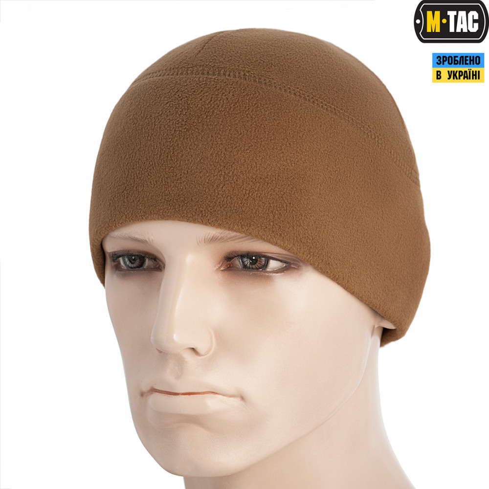M-TAC ШАПКА WATCH CAP ELITE ФЛИС (260Г/М2) COYOTE BROWN