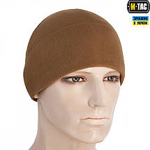M-TAC ШАПКА WATCH CAP ELITE ФЛИС (260Г/М2) COYOTE BROWN, фото 3