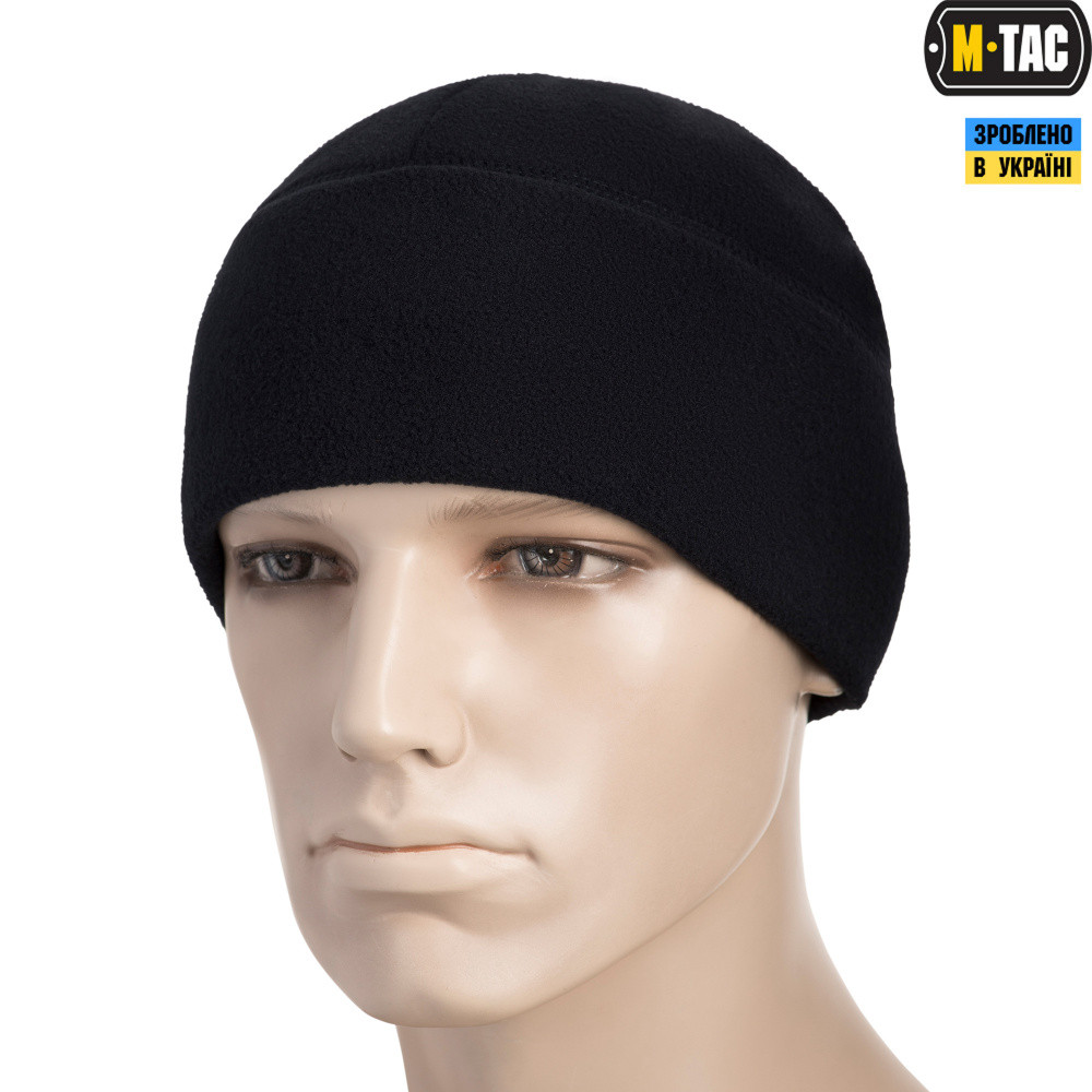 M-TAC ШАПКА WATCH CAP ELITE ФЛИС (260Г/М2) DARK NAVY BLUE