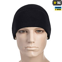 M-TAC ШАПКА WATCH CAP ELITE ФЛИС (260Г/М2) DARK NAVY BLUE, фото 2