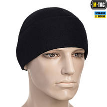 M-TAC ШАПКА WATCH CAP ELITE ФЛИС (260Г/М2) DARK NAVY BLUE, фото 3