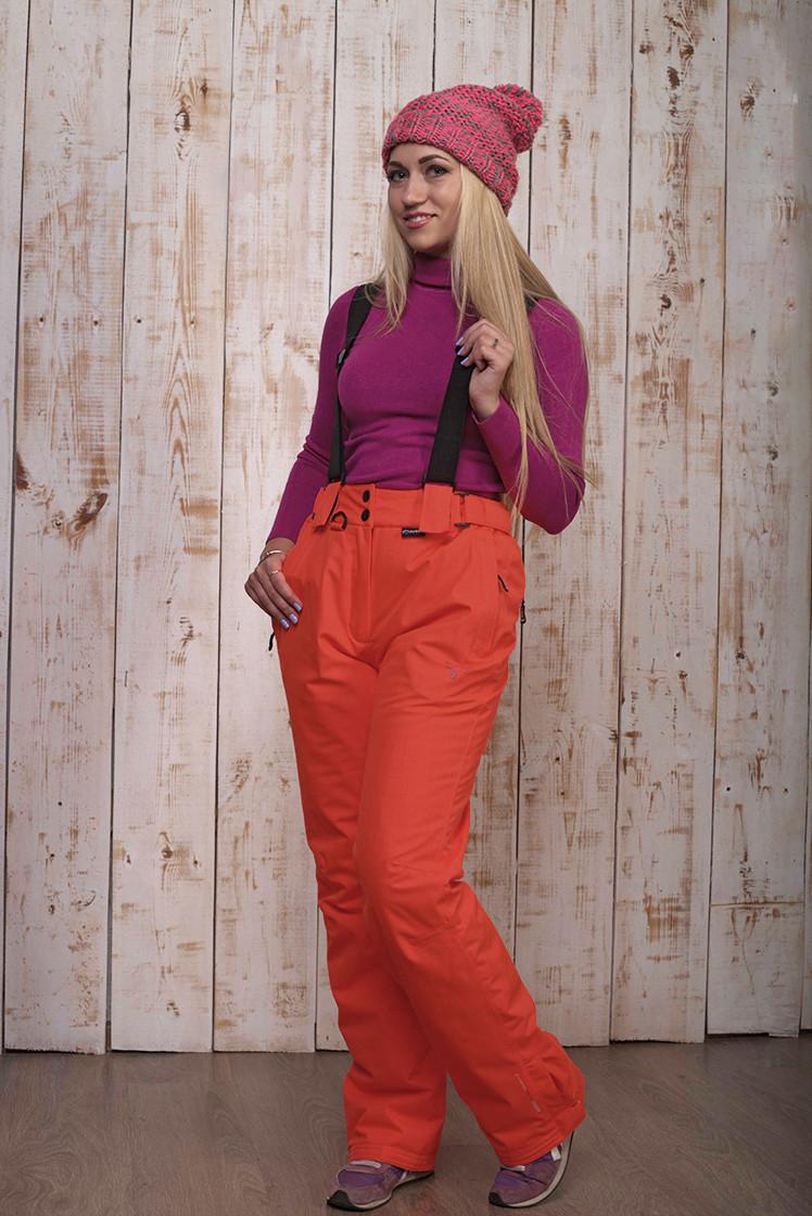 Горнолыжные брюки женские распродажа AV-8072  оранжевый