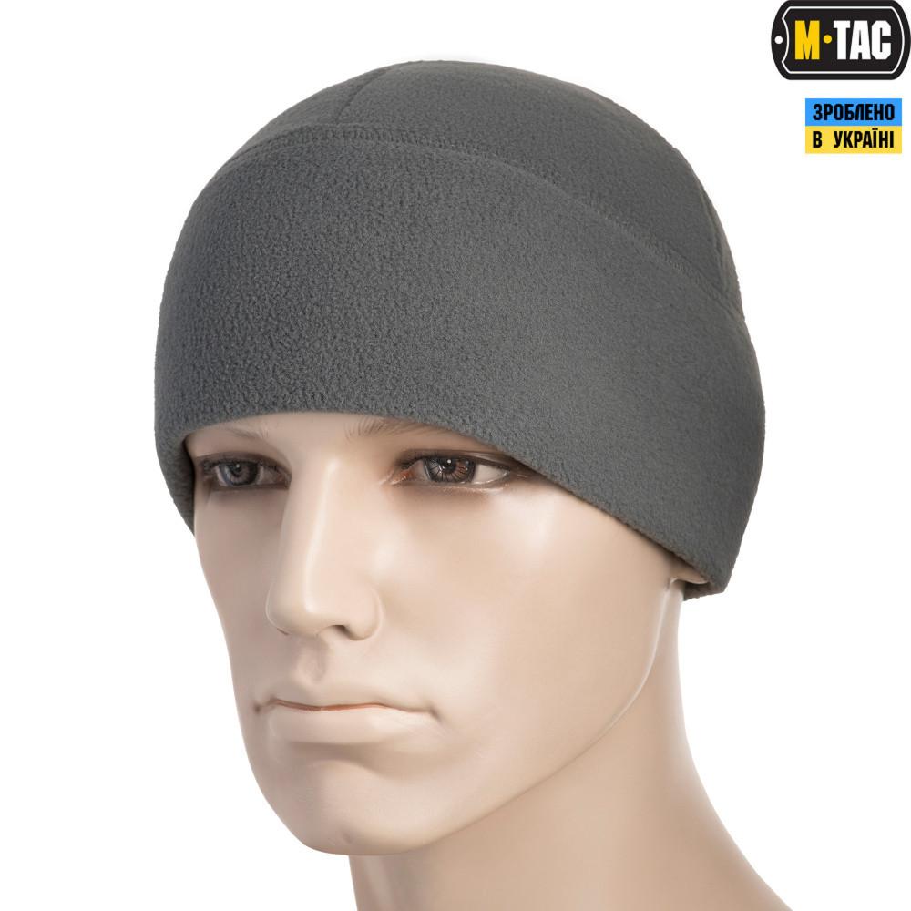 M-TAC ШАПКА WATCH CAP ELITE ФЛИС (260Г/М2) GREY