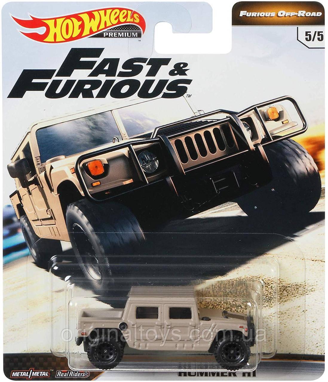 Коллекционная  модель Hot Wheels Hummer H1