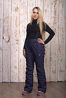 Горнолыжные брюки женские распродажаAV-8072 синий XL