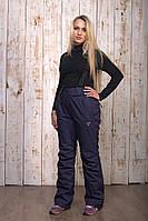 Горнолыжные брюки женские распродажаAV-8072 синий 2XL