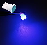 T10 COB LED W5W лампочка автомобільна - синя