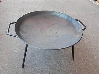 Сковорода для пікніка, багаття (мангал, садж, гриль) 41 см