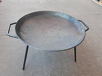 Сковорода для пікніка, багаття (мангал, садж, гриль) 51 см
