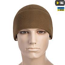 M-TAC ШАПКА WATCH CAP ФЛИС (260Г/М2) WITH SLIMTEX COYOTE, фото 2
