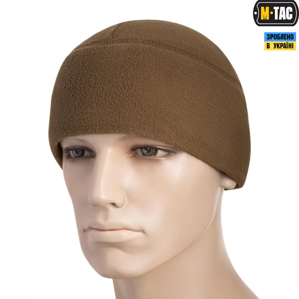 M-TAC ШАПКА WATCH CAP ФЛИС (260Г/М2) WITH SLIMTEX COYOTE