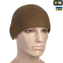 M-TAC ШАПКА WATCH CAP ФЛИС (260Г/М2) WITH SLIMTEX COYOTE, фото 3