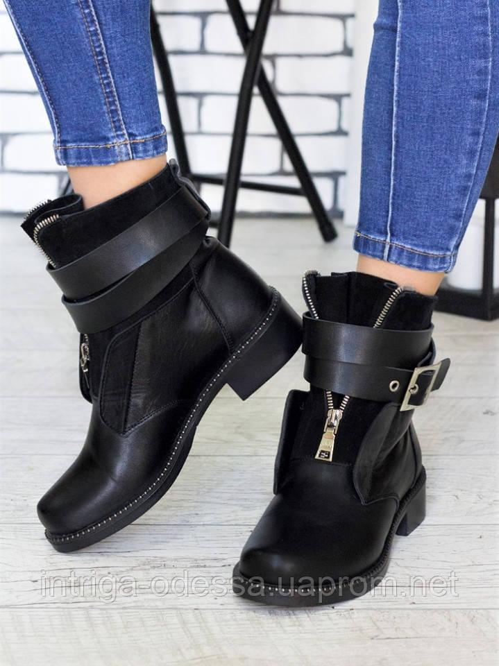 Ботинки LuX №2 с пряжкой 7140-28