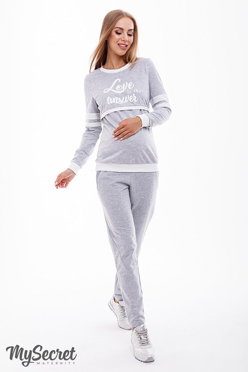 Спортивный костюм для беременных и кормящих  Benji ST-39.041