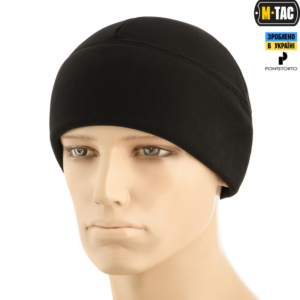 M-TAC ШАПКА WATCH CAP PREMIUM ФЛИС (343Г/М2) BLACK