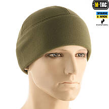 M-TAC ШАПКА WATCH CAP PREMIUM ФЛИС (343Г/М2) ARMY OLIVE, фото 2
