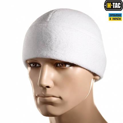 M-TAC ШАПКА WATCH CAP ФЛИС (260Г/М2) WITH SLIMTEX WHITE, фото 2