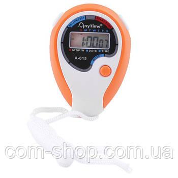 Секундомер таймер цифровой электронный спортивный для тренировок и тренера A-015