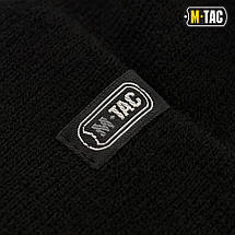 M-TAC ШАПКА ТОНКАЯ ВЯЗКА 100% АКРИЛ BLACK, фото 3