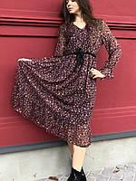 Плаття довге з шифону Wiya Italy
