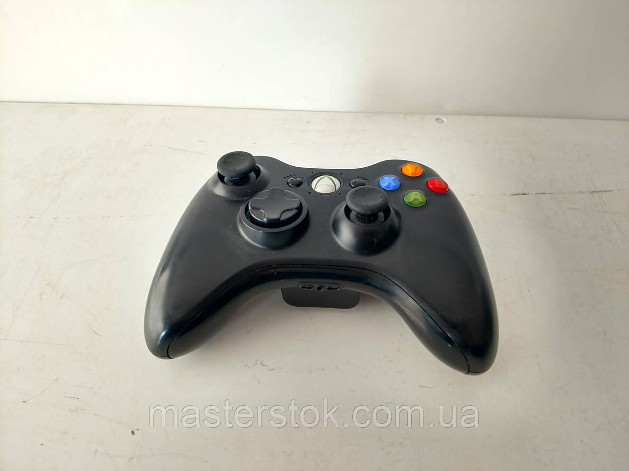 Беспроводные черные оригинальные джойстики для Xbox 360 3
