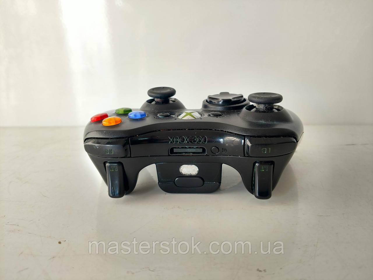 Беспроводные черные оригинальные джойстики для Xbox 360 4